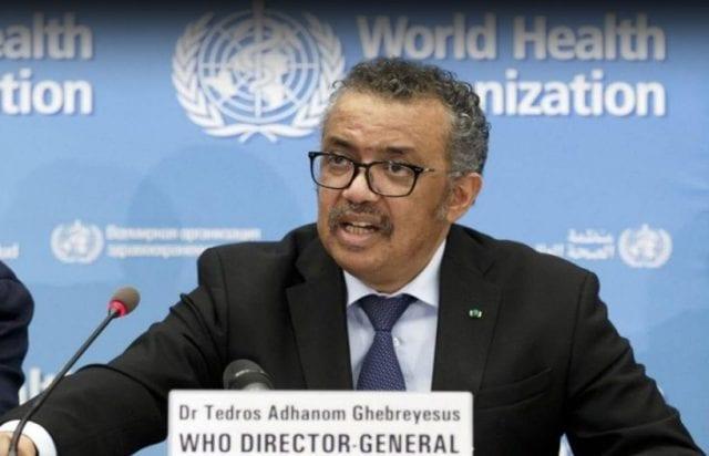 Pagkosmios Organismos Ygeias World Health Organization