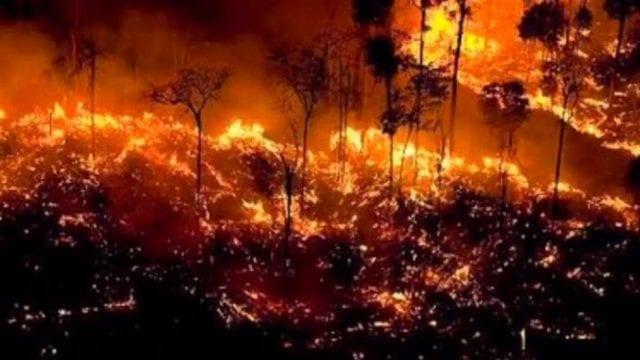 Αμαζόνιος φωτιά Αύγουστος 2019