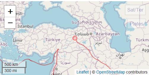 Σεισμός 5,5 Ρίχτερ στην Τουρκία