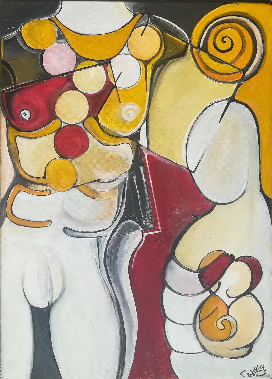 Σταυρούλα Μιτζιφίρη - MiSt, Καθρέφτες, 70x50cm, Λάδια