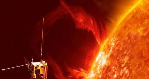 Solar Orbiter στον Ήλιο