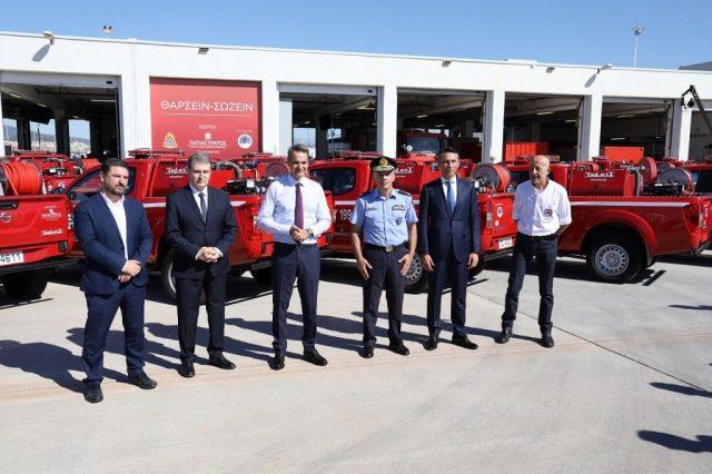 Πυροπροστασία: 20 νέα οχήματα - δωρεά από την Παπαστράτος
