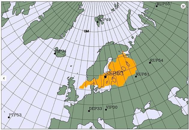 ραδιενέργεια Β.Ευρώπη Ιούνιος 20