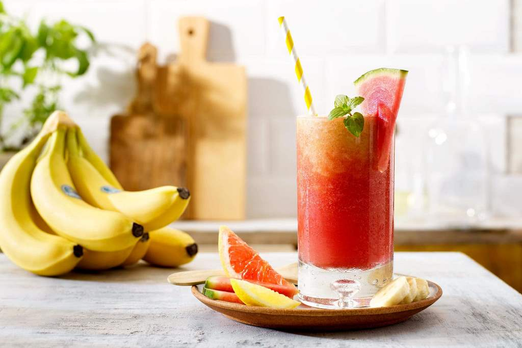 Healthy summer smoothies with Chiquita bananas