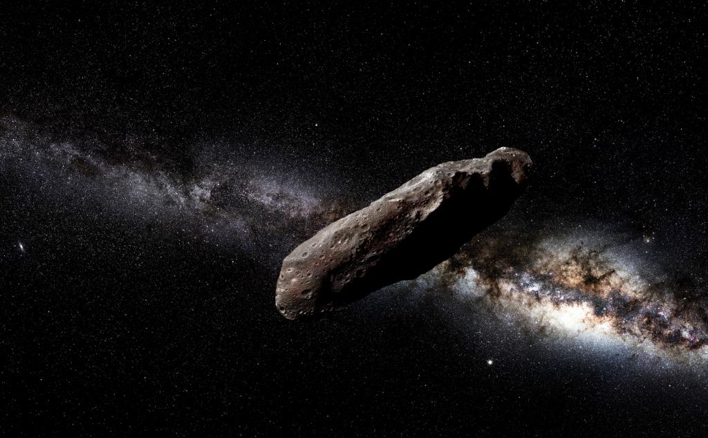 Oumuamua Ομούαμούα