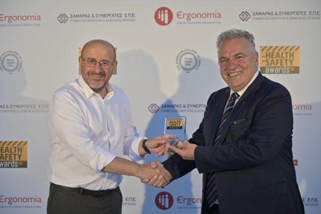 ΔΕΣΦΑ Health and Safety Awards 2020