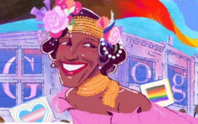 Μάρσα Τζόνσον Google Doodle