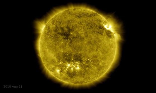 Ήλιος φωτό από NASA