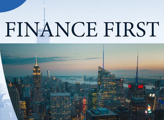 Εξώφυλλο ''Finance First''