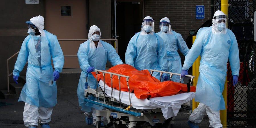 Νέα Υόρκη Εξαγωγή νεκρού Reuters