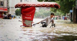 Ουχάν πλημμύρες
