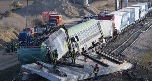 Σύγκρουση τρένων Τσεχία AP CNN