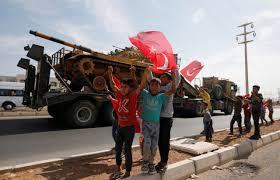 Τουρκική επίθεση στη Συρία