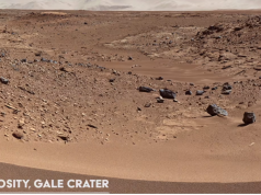 Curiosity Gale Crater