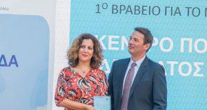 Mobility Actions Award SNFCC Gabriella Triantafyllis Konstantinos Giannatos