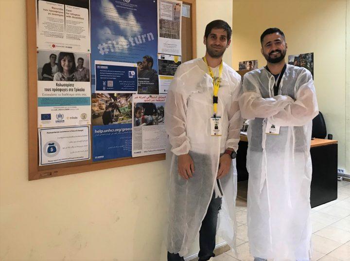 Τρίκαλα: Οι μάσκες και οι στολές του Safar, πρόσφυγα από το Ιράκ