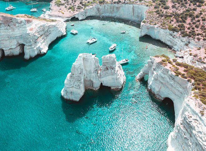 milos discover greece