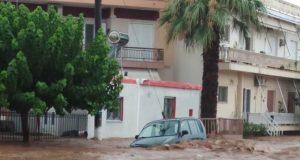 Εύβοια, πλημμύρες