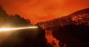 H Καλιφόρνια φλέγεται Πηγή φωτό: AP / cnn.gr