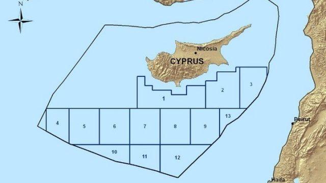 Οικόπεδα Κυπριακής ΑΟΖ ΑΠΕ ΜΠΕ