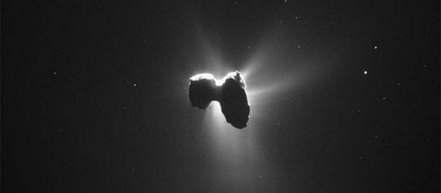 κομήτης λάμψη