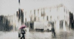 Daniel Castonguay The pink umbrella