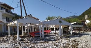 Ιθάκη - Καταστροφές από τον Ιανό