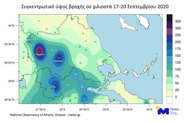 Ianos totrain thessaly