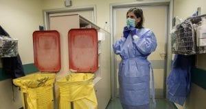 προσωπικό καθαρισμού σε νοσοκομεία