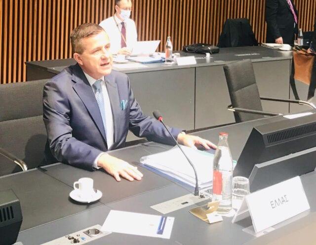 Κ. Αραβώσης Συμβούλιο Υπουργών Περιβάλλοντος