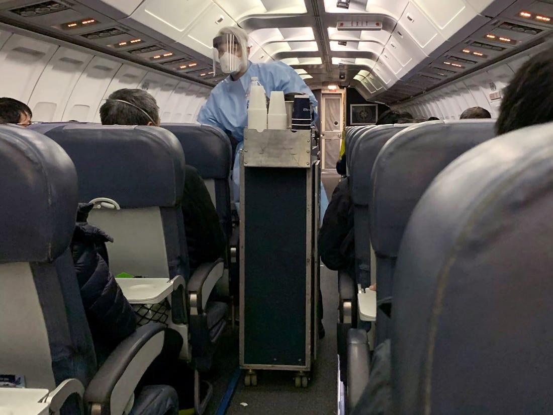 αεροπλάνο Covid
