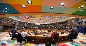 ΒΡΥΞΕΛΛΕΣ -ΕΚΤΑΚΤΟ ΣΥΜΒΟΥΛΙΟ ΤΗΣ ΕΥΡΩΠΑΙΚΗΣ ΕΝΩΣΗΣ (EUROKINISSI / POOL PHOTO EUROPEAN UNION )