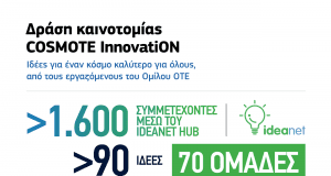 COSMOTE InnovatiON Infographic gr