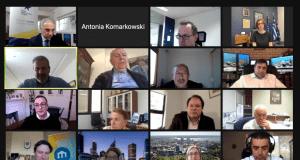 Screen Shot τηλεδιάσκεψης
