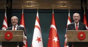 Ερσιν Τατάρ - Ρετζέπ Ταγίπ Ερντογάν (Turkish Presidency via AP, Pool)