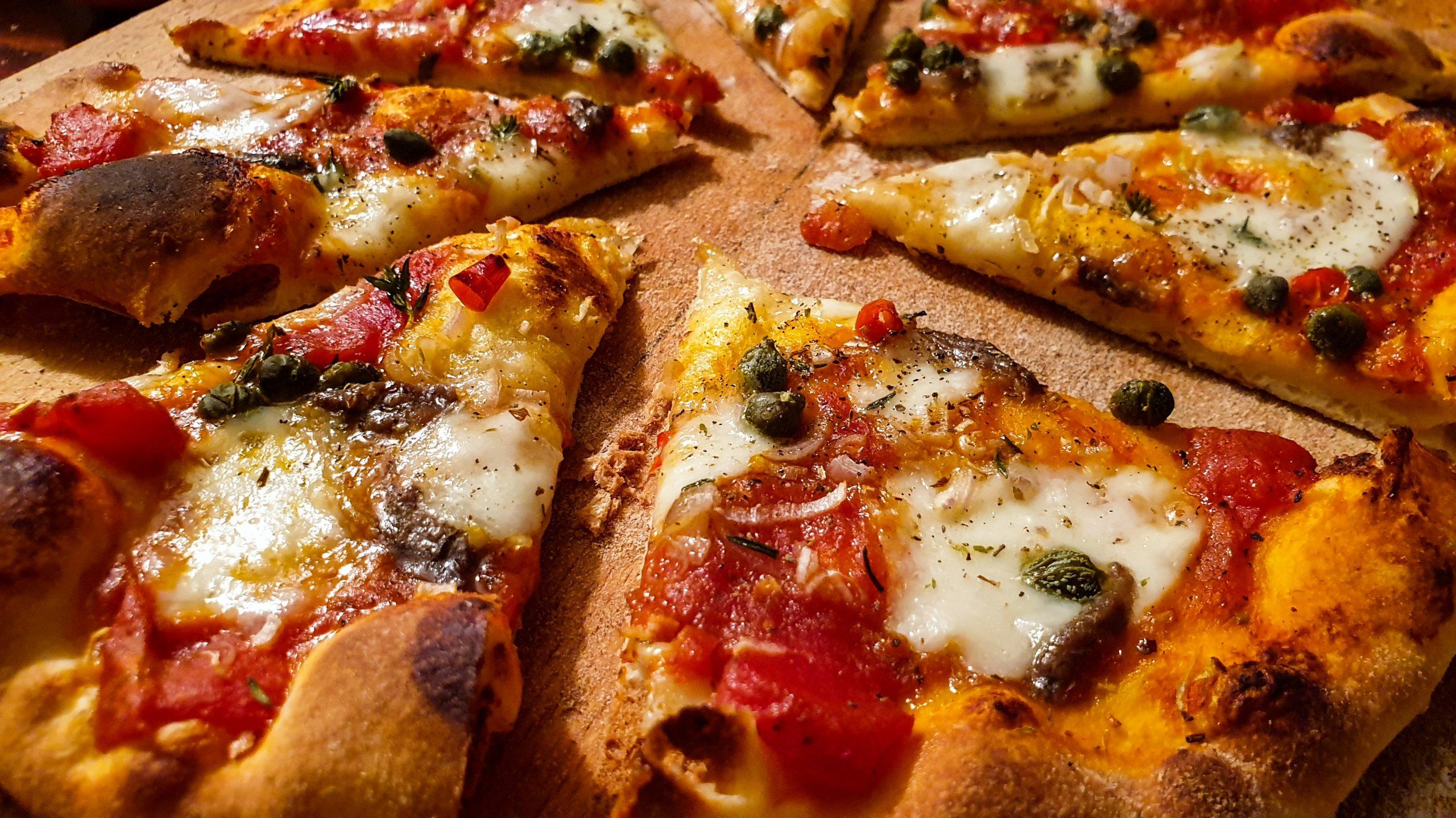 Πίτσα με κάπαρη