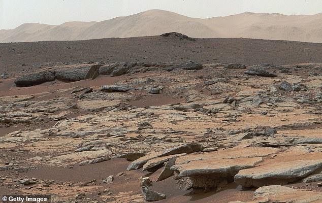 Κρατήρας Cale Άρης AFP via Getty Images