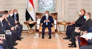 Επίσκεψη Αιγυπτίου Προέδρου και συνάντηση με Κ. Χατζηδάκη