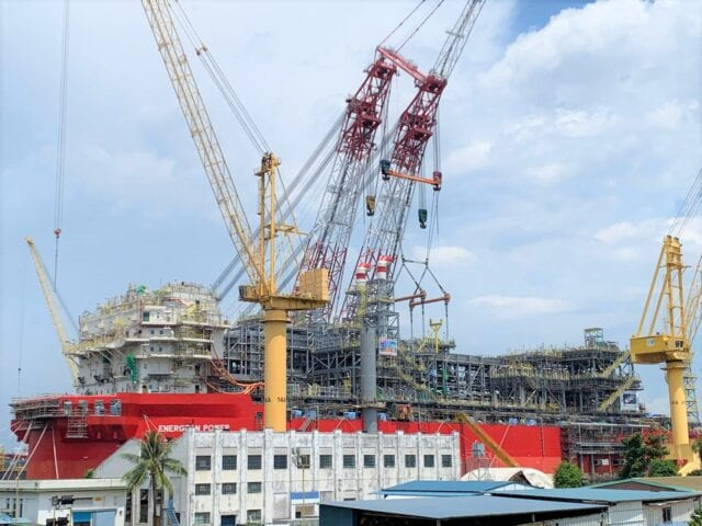 FPSO 'Energean Power', 11 2020, Admiralty Yard, Singapore