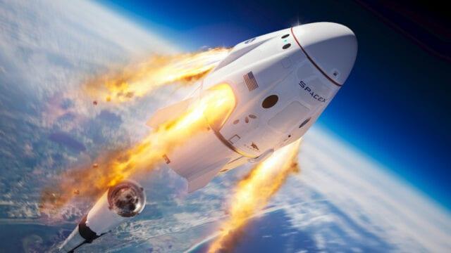 Space X Dragon NASA
