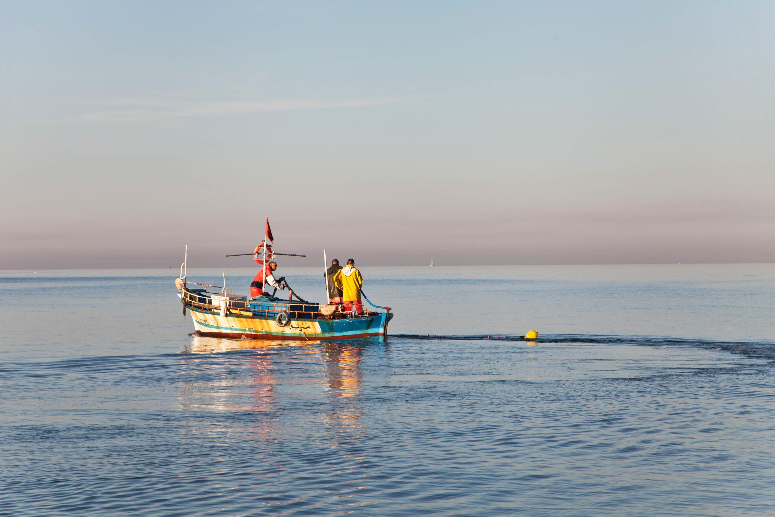 Τοπικοί ψαράδες στην Τυνησία