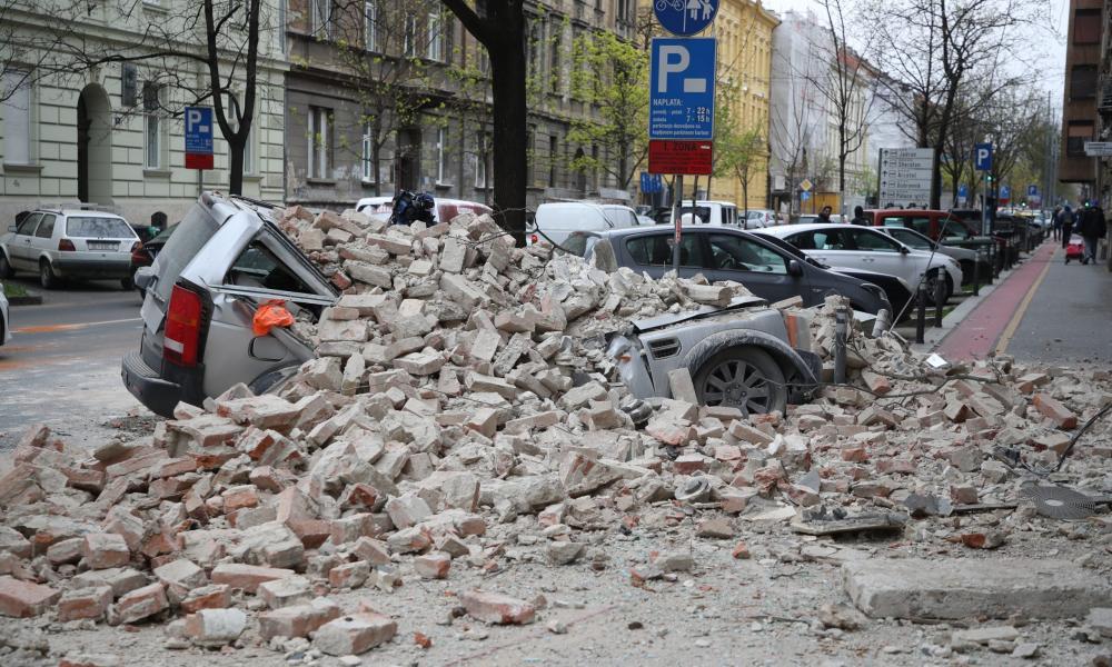 Σεισμός  Κροατία 29.12.2020
