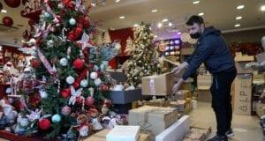 καταστήματα χριστουγεννιάτικα