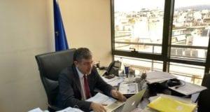 23.12.2020 Τηλεδιάσκεψη Εθνικού Σχεδίου Διαχείρισης Λυμάτων