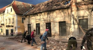Croatia Earthquake Photo Sasa Kavic