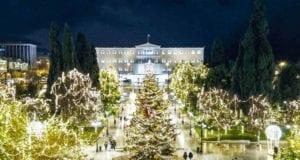 Χριστούγεννα, Αθήνα