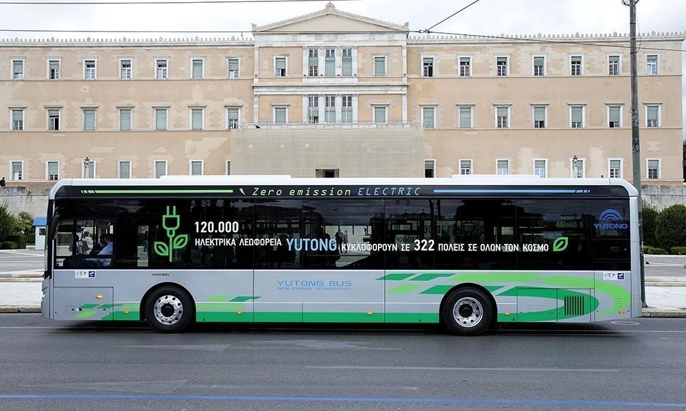 Ηλεκτρικό λεωφορείο Αθήνα newsauto