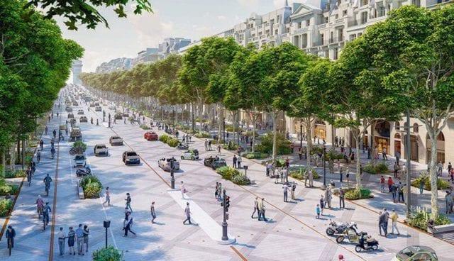 Παρίσι πράσινο