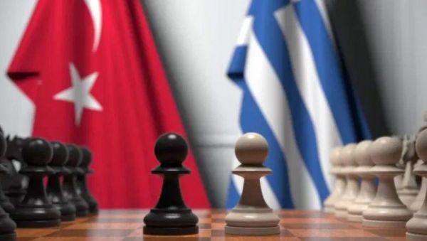 ελληνο τουρκική σημαία
