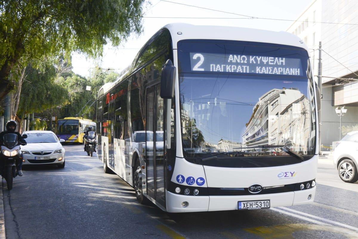 ηλεκτροκίνητα λεωφορεία